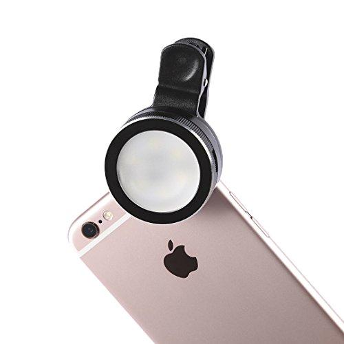 b right mini led strahler flash selfie lichtmobiltelefon kamera licht handy licht fotolicht. Black Bedroom Furniture Sets. Home Design Ideas
