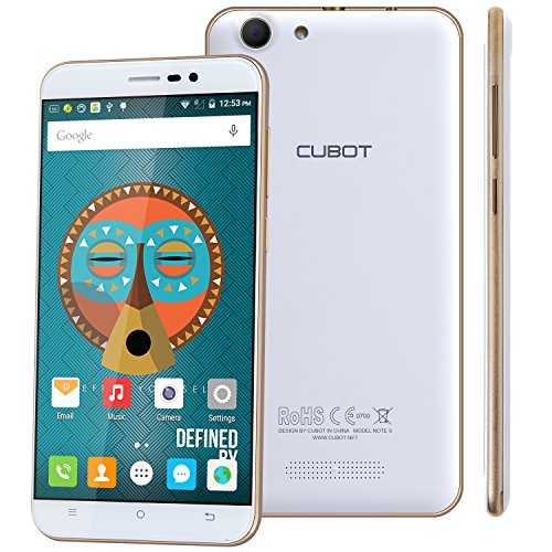 Cubot Note S Smartphone ohne Vertrag 5.5 Zoll 13,9 cm HD ...
